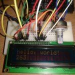 LCDで文字を表示 (Arduino)