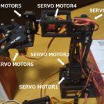 6自由度のマスタースレーブロボットハンド