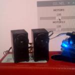 KRSサーボモータの操作パネルを作る