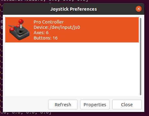 UbuntuでBluetooth接続のコントローラを使う